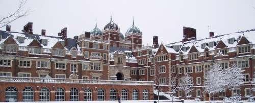 Quadrangle at the University of Pennsylvania in Philadelphia free photo