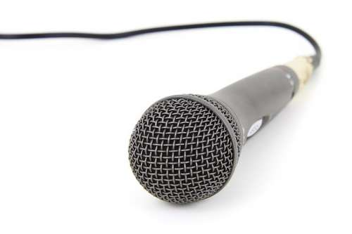 Recording Microphone free photo