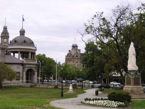 Rosalind Park in Bendigo, Victoria, Australia free photo
