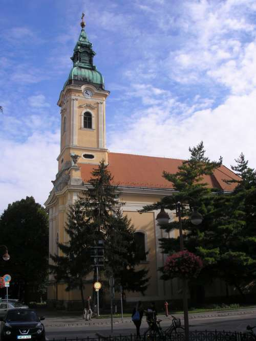 Saint Nicholas Serbian Orthodox Church in Szeged, Hungary free photo