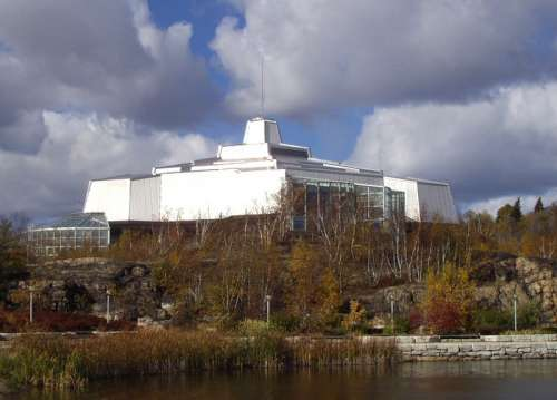 Science North main building in Sudbury, Ontario, Canada free photo