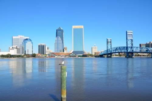 Skyline of Jacksonville, Florida free photo
