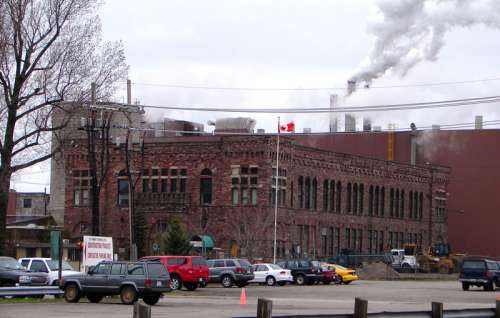 St. Mary's Paper, now closed in Sault Ste. Marie, Ontario, Canada free photo