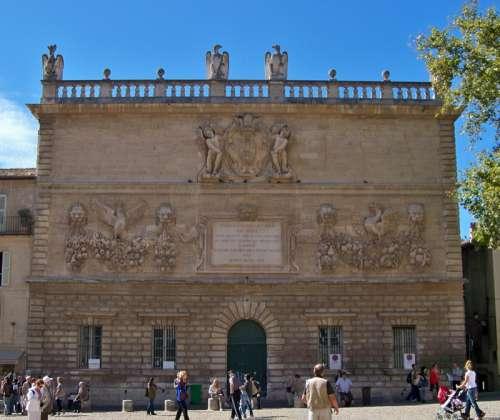 The Hôtel des Monnaies in Avignon, France free photo
