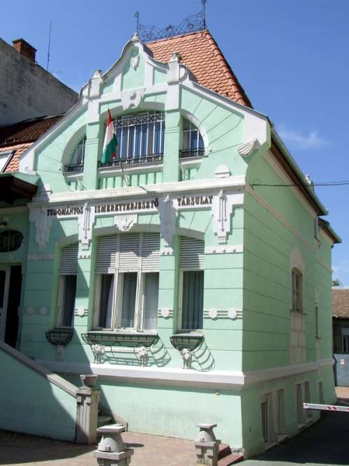 The Hungarian Scientific Knowledge Society in Kaposvar, Hungary free photo