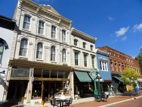 White Building in Downtown, Frankfort, Kentucky free photo