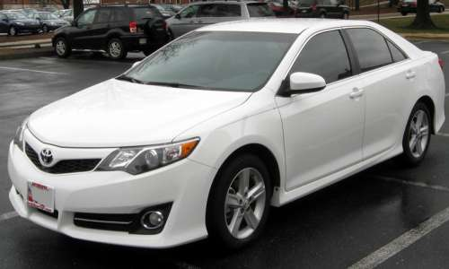 White Toyota Camry, best selling car in the United States free photo