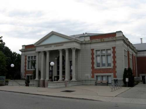 Woodstock Public Library in Ontario, Canada free photo