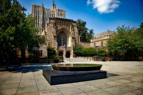 Yale University in New Haven, Connecticut free photo