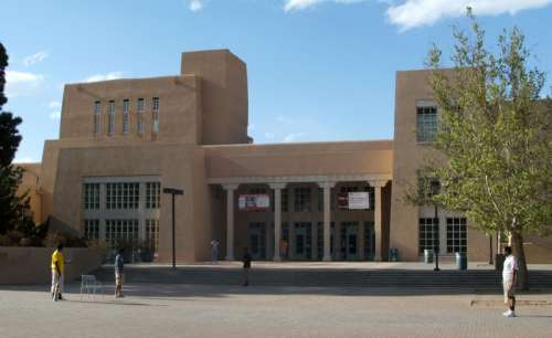 Zimmerman Library at University of New Mexico free photo