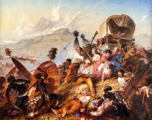 Zulu Attack and Boer Camp in South Africa free photo