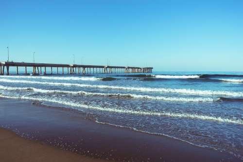 morning venice beach california