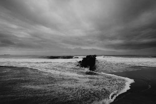 ocean storm socal explore