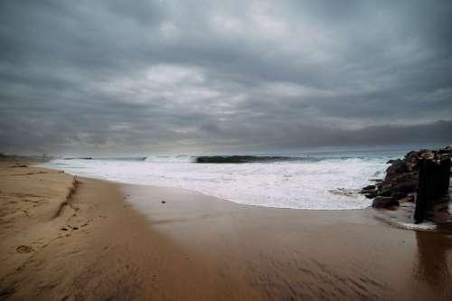 winter barrel surf adventure
