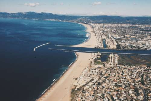 marina del rey lax california