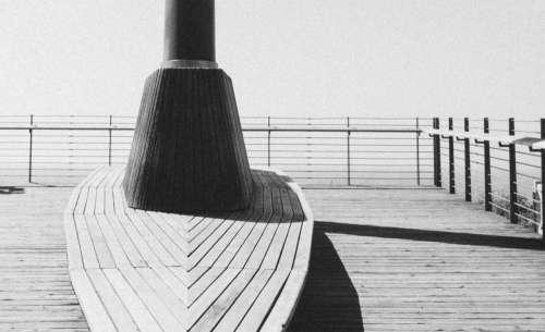 santa monica wood deck