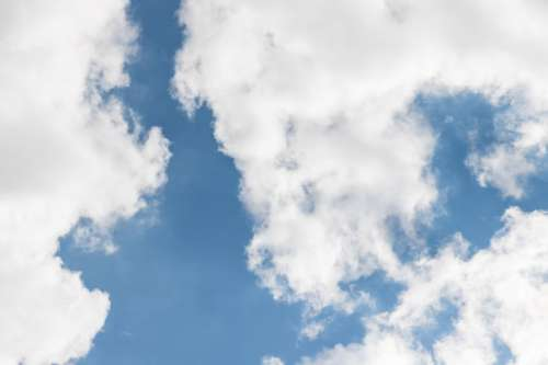 Blue Sky and Cloud Background