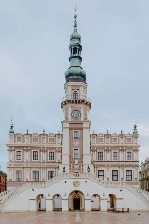 Pictures from a tour around Zamość, Poland