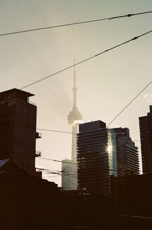 Toronto in morning light
