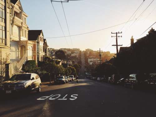 Hilly street