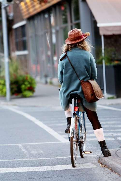 Woman Cyclist