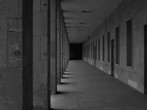 Calm Hallway