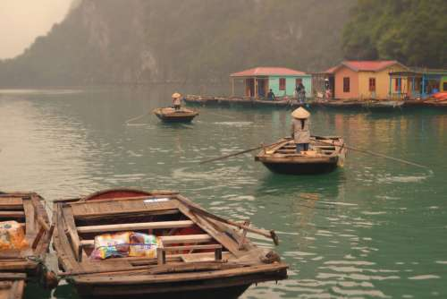 Residents of Halong Bay
