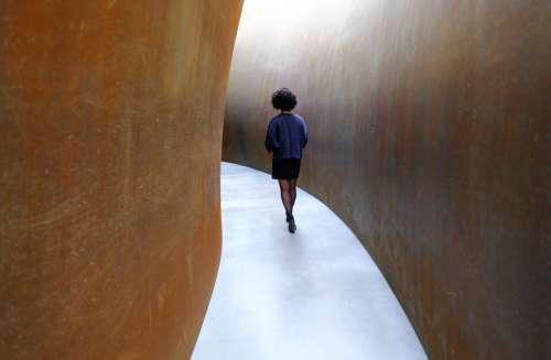 Curving Corridor