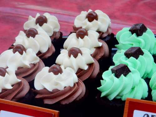 Cupcakes at Belfast Market