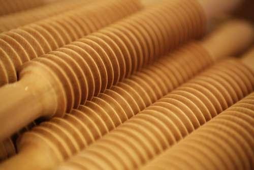 Wood rolls