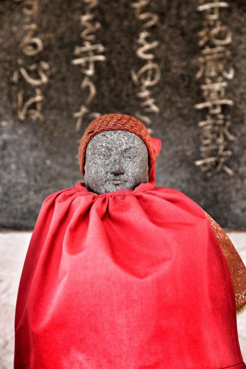 Small Japanese Statue