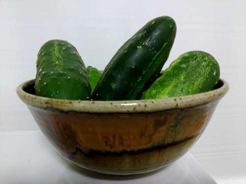 Bowl Full of Cucumbers