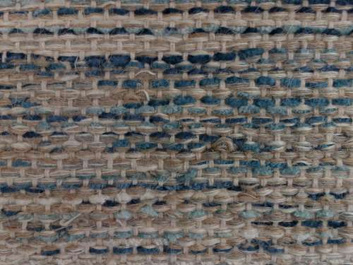 Brown and Blue Woven Rug Texture
