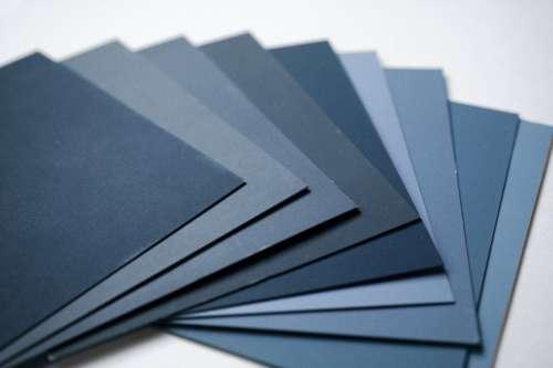 Blue Color Samples