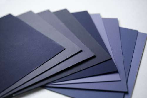 Color Samples – Navy Blue