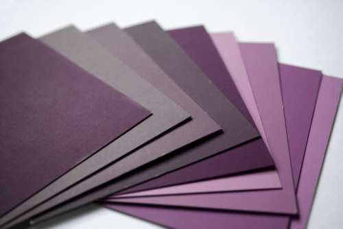 Purple Color Samples