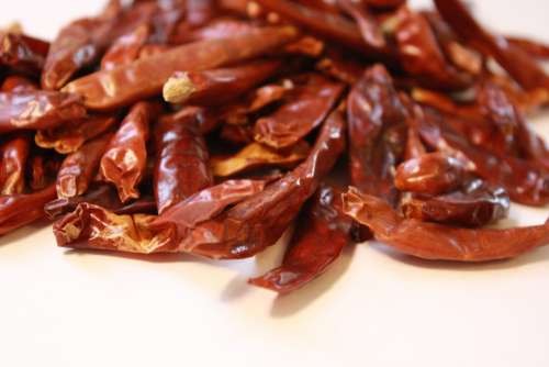 Dried Red Tree Chilis
