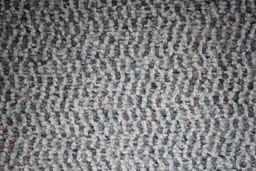 Gray and White Loop Pile Carpet Texture