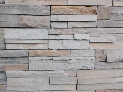 Gray Sandstone Wall Texture
