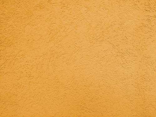 Orange Textured Wall Close Up