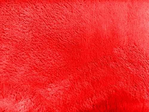 Plush Red Bathmat Texture