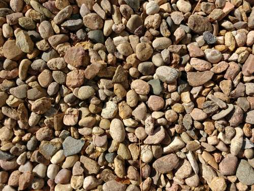 River Rock Gravel Texture