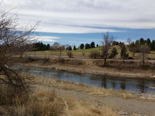 Ruby Hill and South Platte River