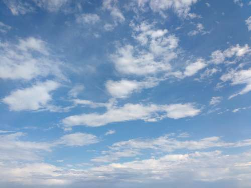 Sky with Clouds Texture