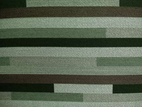 Striped Green Upholstery Fabric Texture