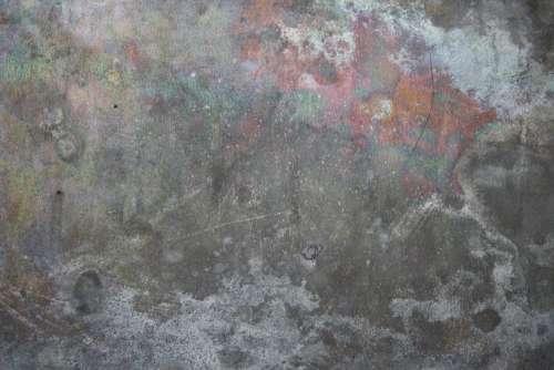 Tin Metal with Iridescent Discoloration Texture