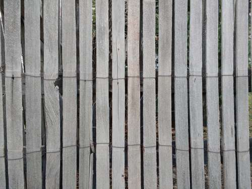 Weathered Rolled Wood Fencing Texture