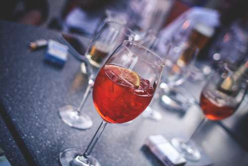Evening Party With Aperol Spritz