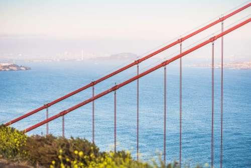 Golden Gate Bridge Suspension Cables