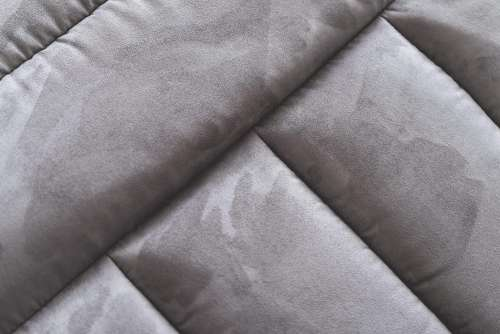 Gray Suede Sofa Abstract Close Up
